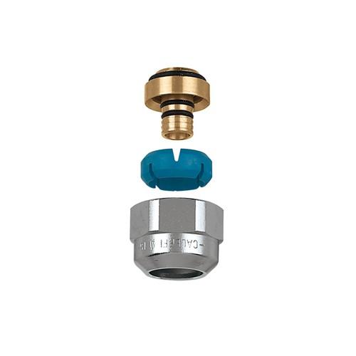 Caleffi Darcal koppeling kunststofbuis 12-14mm/7.5-8mm prijs = per stuk. zak = 2 stuks