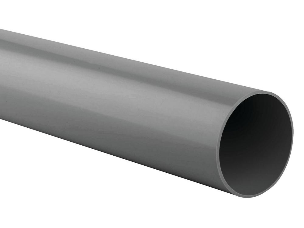 Wavin HWA buis 70mm lengte=6m, prijs per meter, grijs