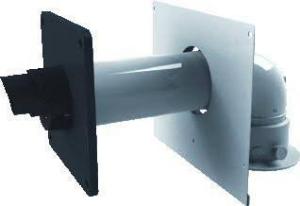 Nefit muurdoorvoer 60-100 concentrische adapter en montageplaat