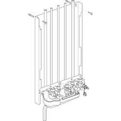 Intergas Kombi Kompakt bovenaansluitingset HRE 28/24 uitgebreid