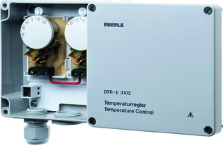 Eberle thermost, opb, temperatuurbereik -20-+35°C, (IP) 65, bimetaal