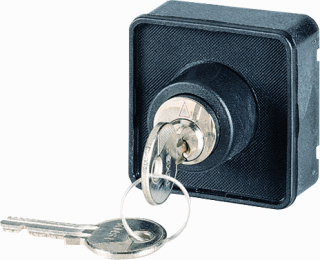 Eaton T S sleutelschakelaar behuizing front, Standaard gebonden, toepassingsbereik