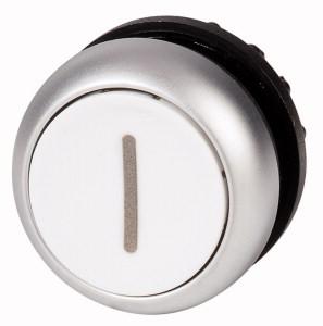 Eaton drukknop frontelement RMQ-Titan, knop, wit, 1 commandoposities