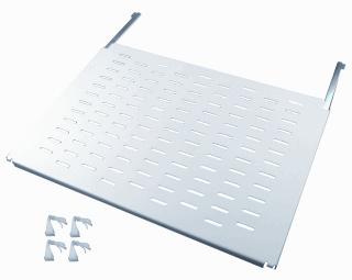 Minkels legbord voor kast/lessenaar Varicon met FE, staal, grijs