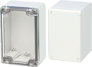 Eldon installatiekast leeg, grijs, (hxbxd) 120x122x56mm, inbouwdiepte 50mm