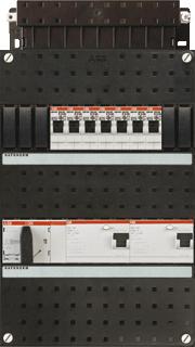 Abb haf installatiekast 3 f 7gr hs40 4