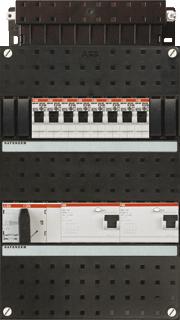 ABB 8 Groepenkast 3F HAD3434-44+H44