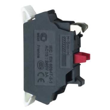 Schneider Electric Harmony XB4 veer contactelement, 1 maak
