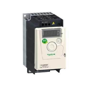 Schneider Electric Altivar 12 1fase koellichaam frequentieregelaar t/m 1 kv, 143x72x131.2mm