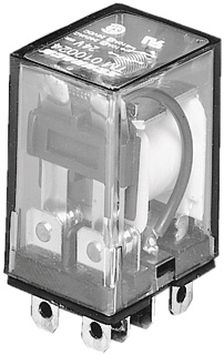 Omron hulprelais LY 2, 36x21.5x28mm, stuursp AC, nom. Us bij AC 50Hz 24V