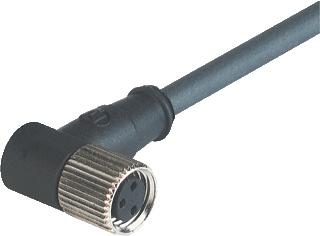 Hirschmann sensor/actorkabel met connector M8 Sensorkabel PVC kabel, 3 polen
