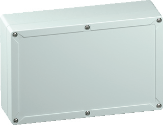 Spelsberg installatiekast leeg TG PC, licht grijs, (hxbxd) 162x252x90mm