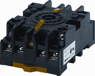 Omron relaisvoet P2, (bxhxd) 49x37x76mm