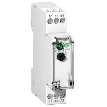 Schneider Electric IRTA tijdrelais vertraagd opkomend, analoog met enkelfunctie