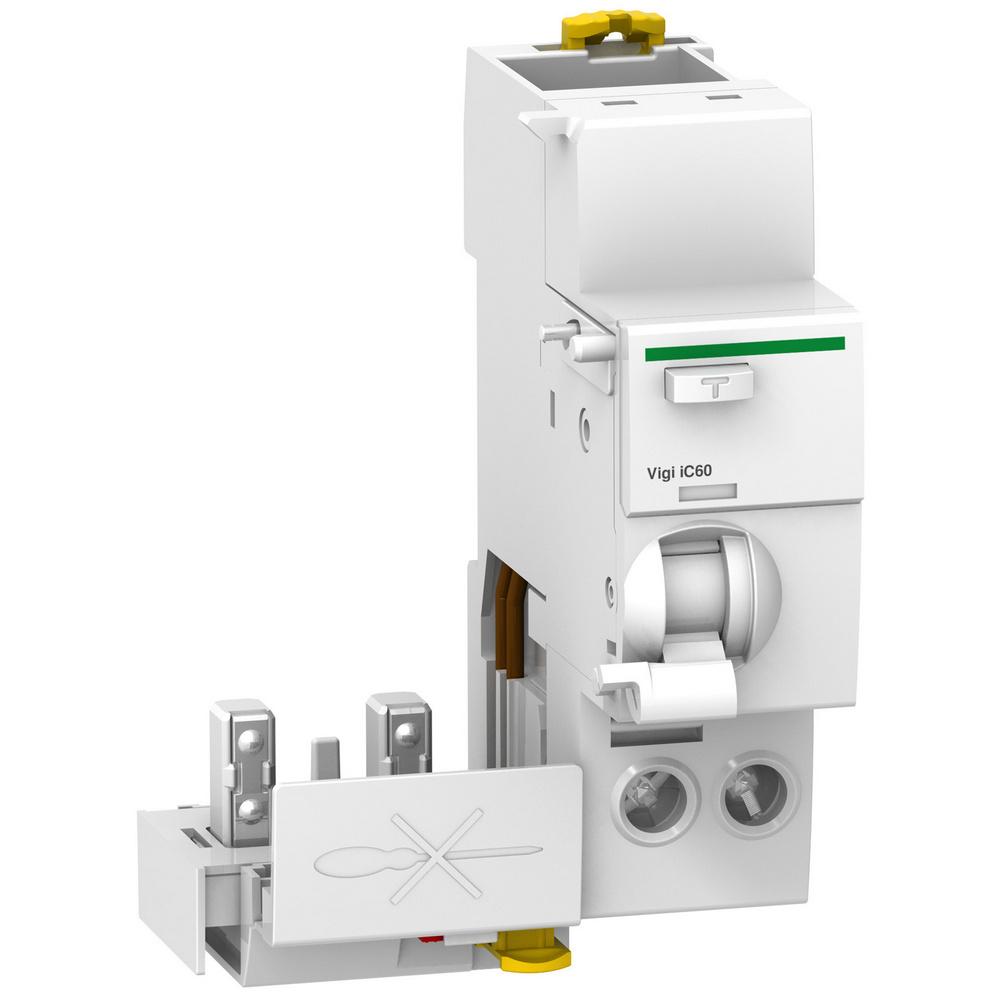 Schneider lekstroom relais voor vermogen