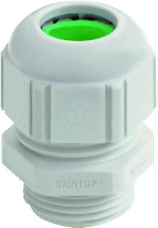 Lapp wartel kabel-/buisinvoer recht Skintop ST-HF M, kunststof, lichtgrijs