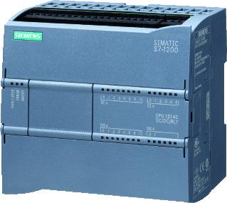 Siemens plc basiseenheid compact S7 1200, bij AC 50Hz 85-264V