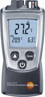 Testo ir temp meter 810, ind/aanduiding dig, display verlicht