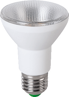 Megaman led-lamp PAR 16/20, wit, le 87mm, diam 63mm, rond, nom. 230V