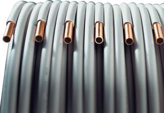 KME koperen buis Wicu, uitwendige buisdiameter 12mm, wand 1mm (rol 5meter)