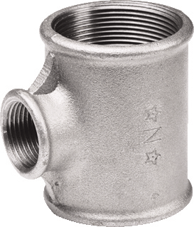 Nefit Industrial draadfitting met 3 aansluiting gegalv 130 1/2