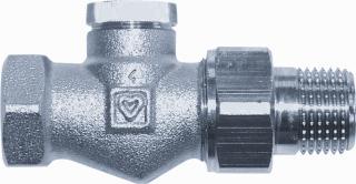 Herz radiator vt vent RL-1, nikkel, ho 28mm, uitvoering staartstuk/binnendraad