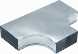 AIR Spiralo t-y-stuk instortkanaal, staal, verz, nom. kanaalmaat 170x70mm