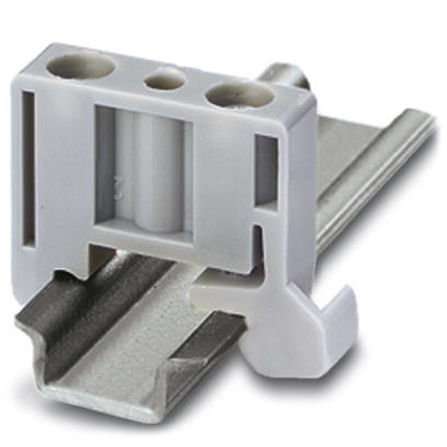 Phoenix Contact eindsteun rijgklem, kunststof, grijs, lengte 21.2mm DIN-rail