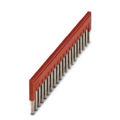 Phoenix Contact FBS doorverbindingsbrug rijgklem, rood, uitvoering dwarsverbinder