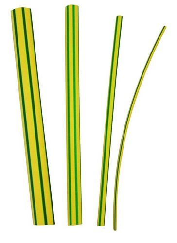 3M GTI 3000 krimpslang, polyolefine (PO-X), geel/groen, lengte 1000mm type