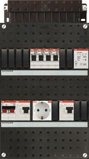 ABB Hafonorm HAD installatiekast, (hxbxd) 330x220x90mm 1 fasen, beveiliging