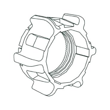 Schneider Electric T Harmony XB5 toebehoren drukknop/signaallamp, soort mechanische