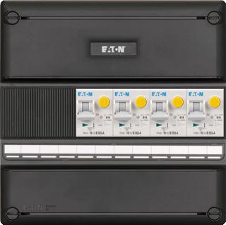 Eaton Systeem 55 installatiekast, (hxbxd) 220x220x79mm 3 fasen