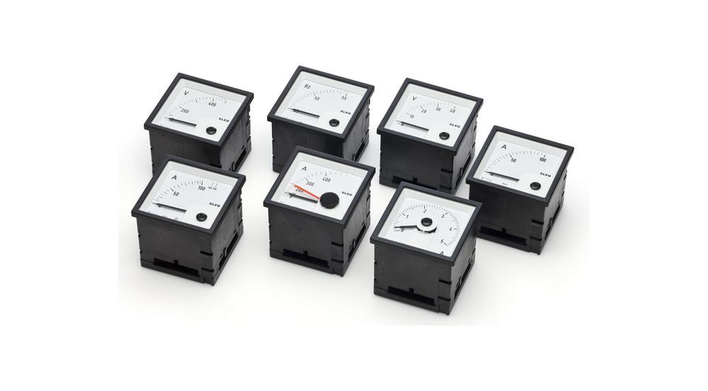Eleq-Faget EIV48-E ampèremeter paneelbouw inbouw, (bxh) 48x48mm uitlezing