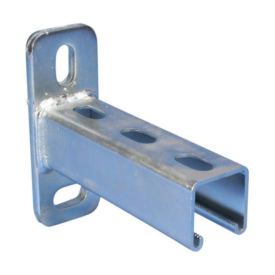 Erico ERISTRUT® A railconsole, staal, lengte 750mm oppervlaktebescherming