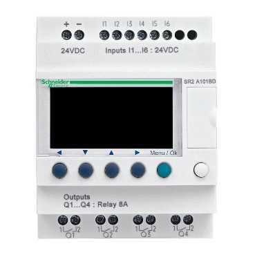 Schneider Electric T Zelio Logic logische module, (hxbxd) 90x71.2x59.5mm voedingsspanning
