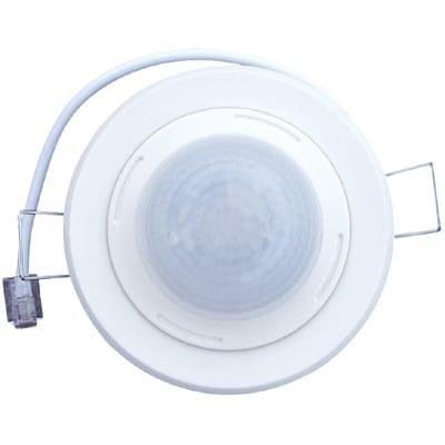 Klemko bewegingsschakelaar (cpl) PIR PLF-80 kunststof, wit, uitvoering presentiemelder