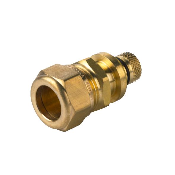 VSH Multicon S Gas overgangskoppeling 26 mm schuif x 22 mm knel