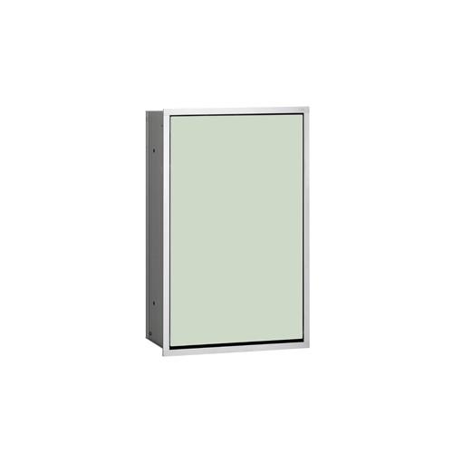 Emco Asis Module 300 inbouw afvalmandmodule 31.4x49.5cm chroom/wit