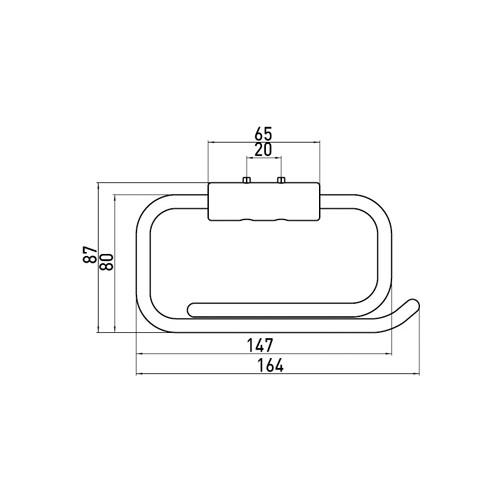 EMCO CLOSROLH SYS2 V/TOILTSTN