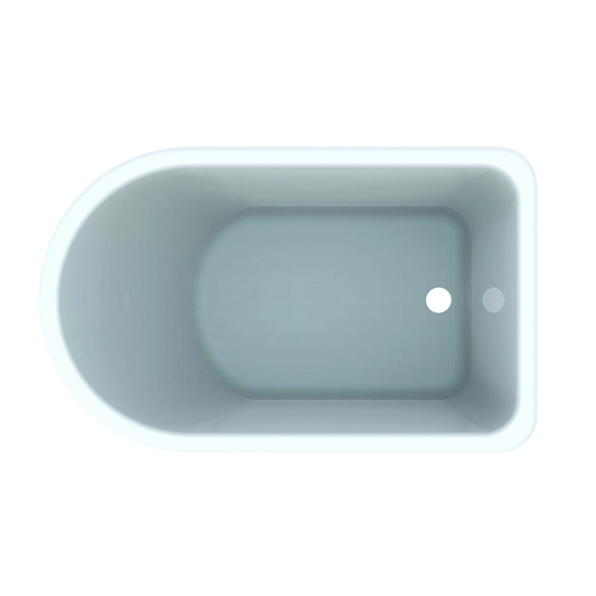Productafbeelding van Geberit 300 Kids asymmetrisch bad, wit