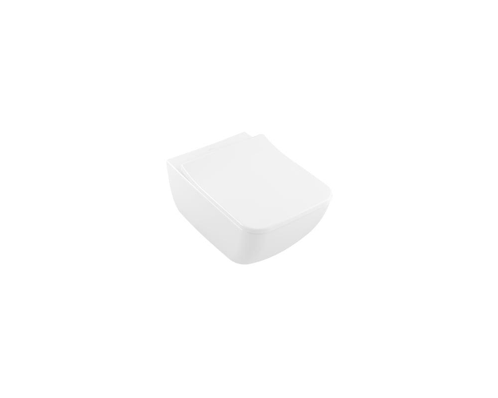 Productafbeelding van Villeroy & Boch Venticello wandcloset diepspoel DirectFlush 37.5x56cm ceramic+ stone white