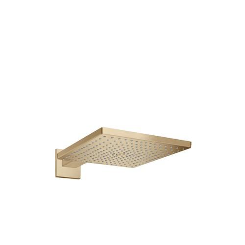 Productafbeelding van Hansgrohe Raindance E Square hoofddouche E300 1jet m. douchearm 39cm 30x30cm brushed bronze