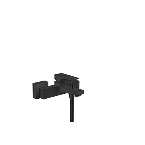 Productafbeelding van Hansgrohe Metropol badkraan m. omstel m. koppelingen HOH=15cm mat zwart