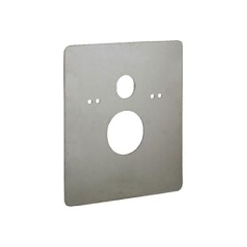 Viega afdekplaat RVS geborsteld 460x390mm t.b.v. WC-element 0500330