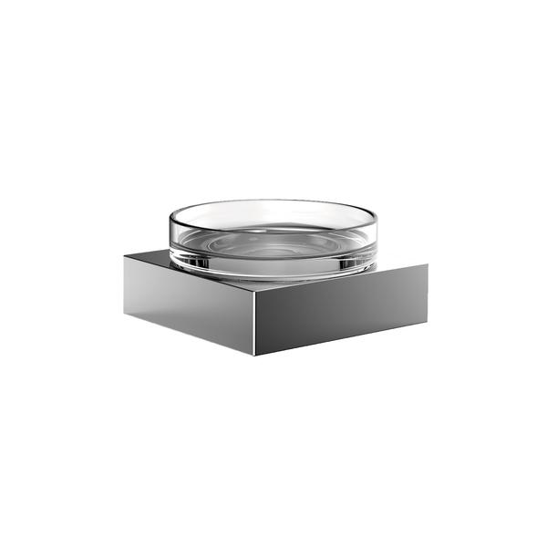 Emco Liaison zeephouder inclusief helder kristalglas 4,4 x 9 x 9 cm, chroom