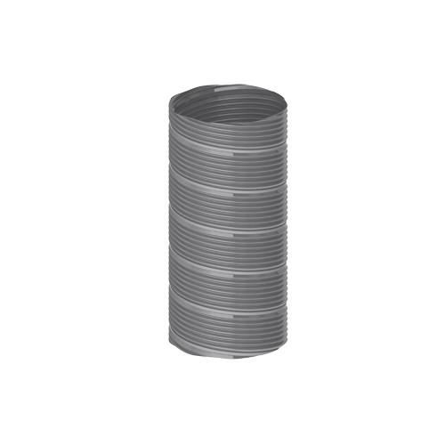 Burgerhout MetalFlex flexibele buis Ø80mm l=15m MetalFlex RVS rol=15m prijs=per rol