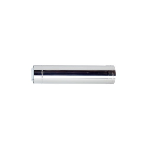 Ubbink Rolux Buitenwandsysteem rookgasafvoer-, luchttoevoerbuis, concentrisch 110/160mm l=2000mm PP/inox, buitenwandsysteem