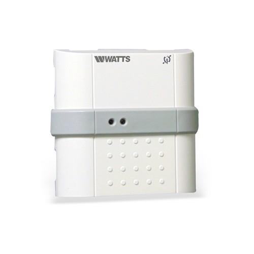 Watts Vision flush montage ontvanger t.b.v. elekt. (vloer)verwarming RF 868 MHz, 16A relais vloersensor optioneel 900006675
