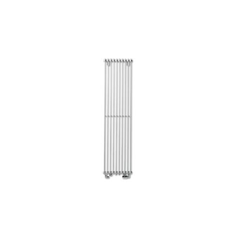 Vasco Tulipa TV2 designradiator verticaal dubbel 1800x360mm 1354W - aansluiting 1008 wit (RAL 9016) 1120803601800100890160000